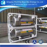 195L Cryogene Cilinder van Dpl van de Vloeibare Zuurstof van de capaciteit de Rechte
