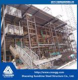 Construction en acier légère préfabriquée avec la poutre en double T pour la résidence, Chambre, entrepôt