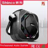 Shinco 6,5 polegada a cargo do alto-falante de Karaoke portátil Bluetooth ativa
