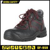 Высокая лодыжки работу и высокое ботинок горловины обувь