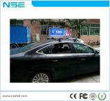 LED de alta resolução para exterior P2.5 Ecrã de publicidade para o carro de táxi