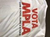 Promoción de venta al por mayor baratos personalizados 100% algodón poliéster Camiseta