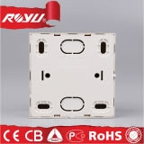 CE LED Surface Mounting Golden 86*86size Electric Wall Switch