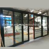 Elevador de serviço pesado de madeira e vidro corrediço da porta de alumínio para Missouri EUA Client