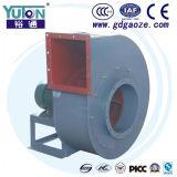 Yuton conduz diretamente a poeira que extrai o ventilador centrífugo do ventilador de ar