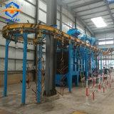 Hanger Granalhagem Máquina com Corrente Superior