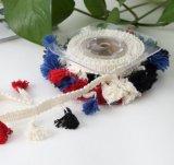 Мода Tassel кружева льготах для украшения