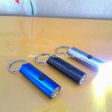 Torcia elettrica di abitudine 3 LED con Keychain per il regalo di promozione