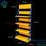 mensola di visualizzazione diritta di olio combustibile del metallo del basamento dell'erogatore dell'olio per motori del negozio 4s