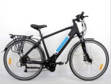 "28 "" 350W Middle Motor 도시 Electric Bike"