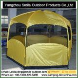 Tente campante commerciale utilisée de pavillon d'hexagone de modèle moderne