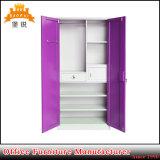 Slaapkamer 2 van de bevordering de Prijs van de Garderobe van het Metaal van de Deur/van de Garderobe van het Staal