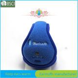 Custom синий флис ухо Muffs Bluetooth
