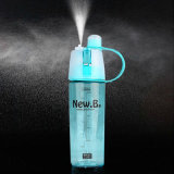 a água nova do projeto de 400ml 600ml coloca o frasco portátil da montanha dos frascos do pulverizador do esporte