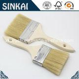 Doubles brosses de peinture épaisses avec la poignée en bois