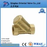 Borde B62-C83600, Dn50 tamiz de cobre amarillo de la válvula del bronce Y