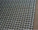 La gran muralla de la correa metálica plana con la cadena