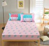 Lo stile moderno ha stampato la diffusione della base dell'assestamento della camera da letto del cotone