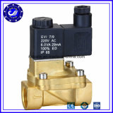 220V válvula de solenóide de bronze do vapor de água da maneira da C.A. 2/2
