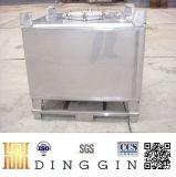Roestvrij staal IBC voor Chemisch product/Olie/Voedsel/Poeder