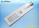6W-120W de slimme Sensor van de Motie van de Telefoon APP Gecontroleerde ZonneStraatlantaarn