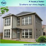 大きいグループのための緑のプレハブの生きている家