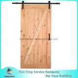 単一の納屋の大戸型のドアの純木のドアPVCドア