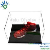 Acrylwürfel-Ausstellungsstand-Quadrat-Acryl 6 versah Schaukarton mit Seiten