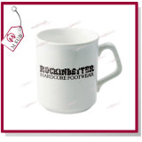 9oz Sublimation Ceramic Coffee Mug con Square Handle