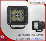 9V-32V IP68 2D 4D 3дюйма 16W КРИ светодиодный индикатор работы для пакетиков для легковых автомобилей и грузовиков, Jeep