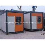 Стандартная полуфабрикат стальная передвижная дом контейнера