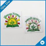 Kundenspezifisches rundes selbstklebendes Abzeichen-/Velcro/-Eisen auf Stickerei-Änderung am Objektprogramm für Kleidung/Hut