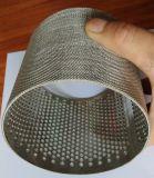 5ミクロン10ミクロン316の316Lステンレス鋼の焼結させた金網フィルター