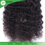 安い卸し売り柔らかい女性の人間の毛髪のねじれた巻き毛のレースの閉鎖