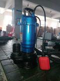 Bomba de agua eléctrica de aguas residuales de Wqd para el uso de la agricultura