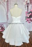 Платье венчания Bridesmaid сатинировки с с втулкой плеча длинней