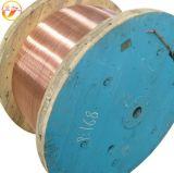 Fio de alumínio revestido de cobre do fio de cobre do fio CCA