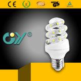 Lámpara de ahorro de energía en espiral LED 5W SMD2835 IC Driver
