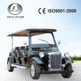 Der heiße Verkauf im UAE-Cer genehmigte 8 setzte elektrische Retro Golf-Karren/Roller