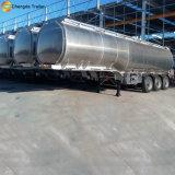 Type léger de camion-citerne remorque en aluminium de 3 Axel semi