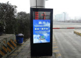 Yashi 전시 간이 건축물을 광고하는 옥외 모니터 디지털 Signage LCD