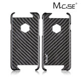 中国製iPhoneのためのReal Carbon Fiber Fabric Phone Case 6 6s