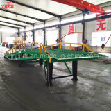 5-15ton 중국 최신 판매 새로운 디자인 판매를 위한 이동할 수 있는 유압 선창 콘테이너 트럭 경사로 레벨러