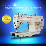 Direct-Drive Equipo Lockstitch corte de rosca automática máquina de coser
