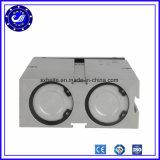 Welle-doppelter verantwortlicher pneumatischer Luft-Zylinder des Vertrags-3