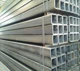 Tubo de acero galvanizado de la INMERSIÓN caliente de los materiales de construcción/tubo cuadrado para la construcción