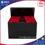 卸し売り黒くか赤いアクリル36のばらボックス
