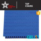 Plastikineinander greifen-Förderanlagen-modularer Riemen der kettenförderanlagen-T-200