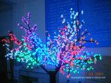Luz da corda do diodo emissor de luz do partido da decoração da luz da árvore de cereja do diodo emissor de luz