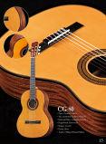 Guitarra clássica laminada prática de Sapele dos estudantes